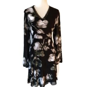 Simply Vera Wang Black & White Size 12 Dress